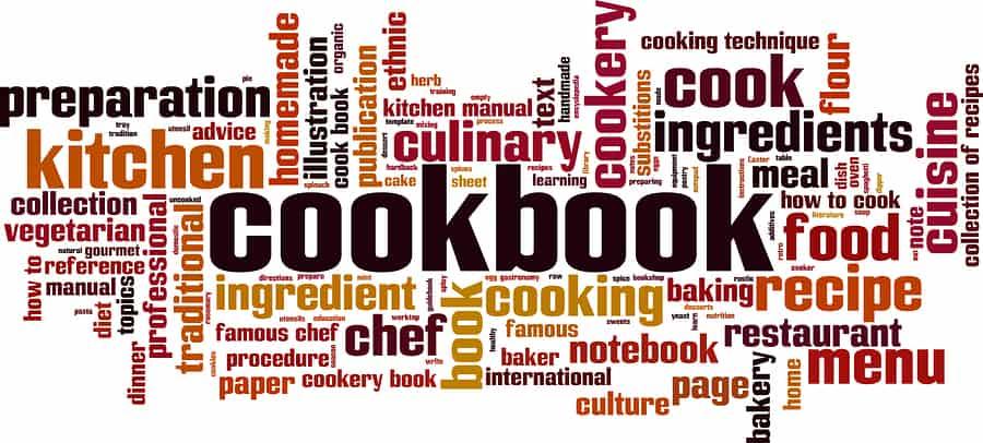 Cookbook Word Cloud