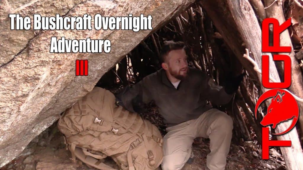 Bushcraft Overnight Adventure – Winter Camping and Survival
