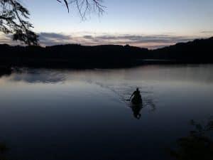 Hunts Pond at Dusk