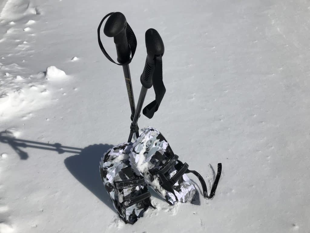 Crescent Moon EVA Foam Snowshoes