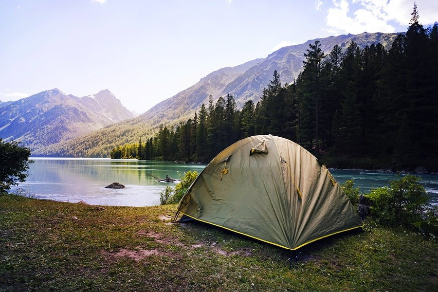 Primitive or Dispersed Tent Camping
