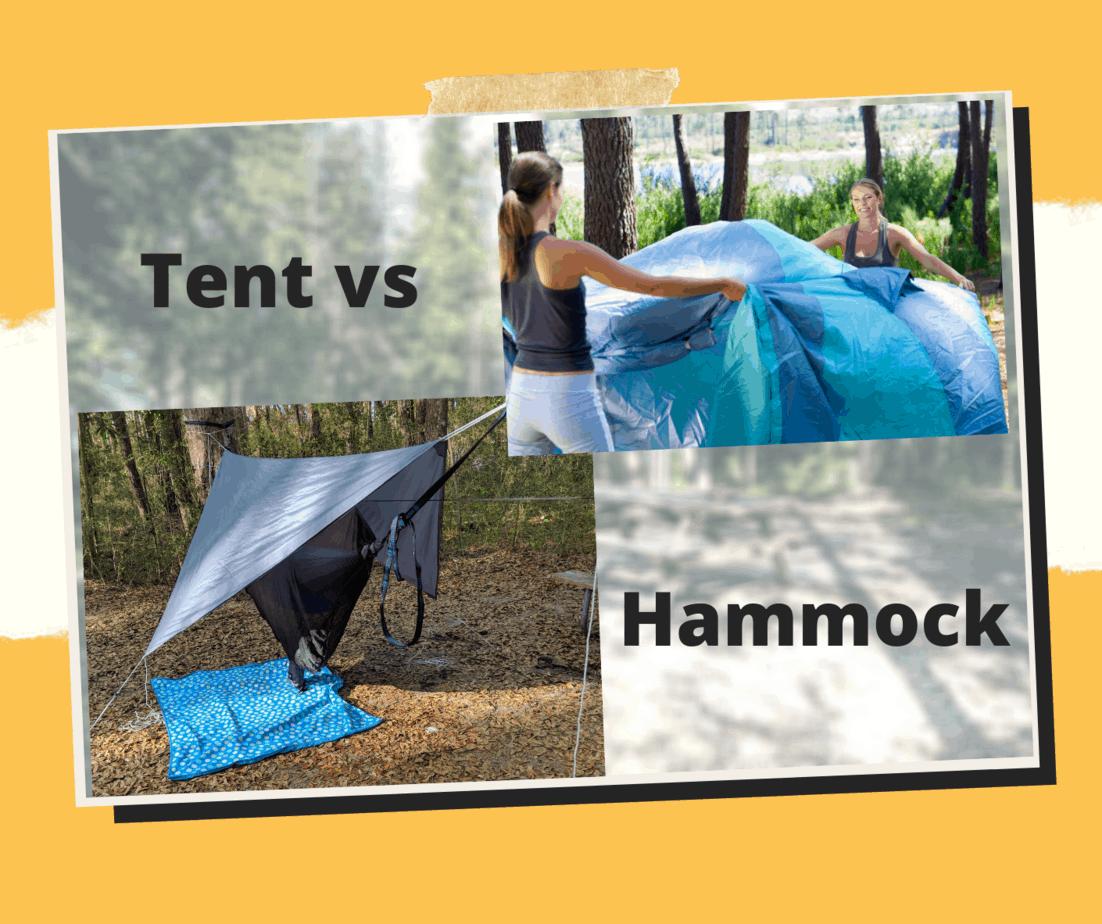 Tent vs Hammock Camping